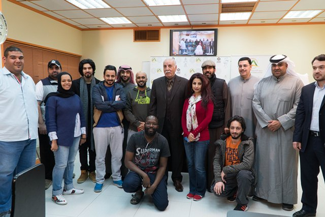 IMA hosts media personality and the previous  Minister of  Information Mohammed al-Sanousi